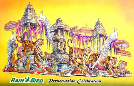 Rain Bird Rose Parade Float